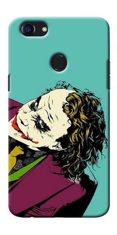 Digiprints Joker So Serious Art Print Printed Designer Back Case Cover For Oppo F5