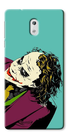 Digiprints Joker So Serious Art Print Printed Designer Back Case Cover For Nokia 3