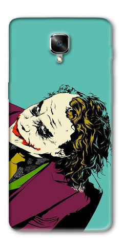 Digiprints Joker So Serious Art Print Printed Designer Back Case Cover For OnePlus 3