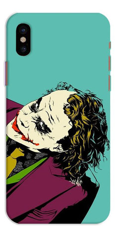 Digiprints Joker So Serious Art Print Printed Designer Back Case Cover For Apple iPhone X