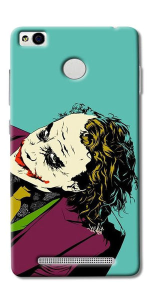 Digiprints Joker So Serious Art Print Printed Designer Back Case Cover For Xiaomi Redmi 3S Prime