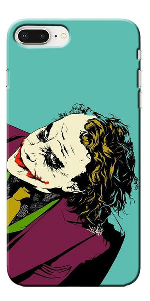 Digiprints Joker So Serious Art Print Printed Designer Back Case Cover For Apple iPhone 8 Plus