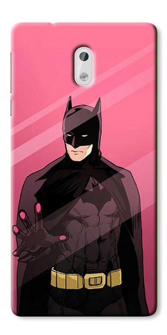 Digiprints Batman ArtDigiprints Printed Designer Back Case Cover For Nokia 3