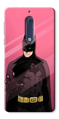 Digiprints Batman ArtDigiprints Printed Designer Back Case Cover For Nokia 5