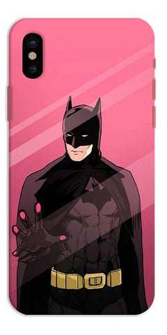 Digiprints Batman ArtDigiprints Printed Designer Back Case Cover For Apple iPhone X