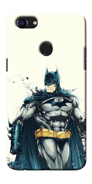 Digiprints Batman ArtPrinted Designer Back Case Cover For Oppo F5 Printed Designer Back Case Cover For Oppo F5