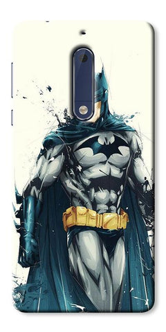 Digiprints Batman ArtPrinted Designer Back Case Cover For Nokia 5 Printed Designer Back Case Cover For Nokia 5