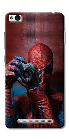Digiprints Spider-Man a Good Photographer Designe Printed Designer Back Case Cover For Xiaomi Redmi 3S