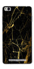 Digiprints Black Marble Design 1 Printed Designer Back Case Cover For Xiaomi Redmi 3S