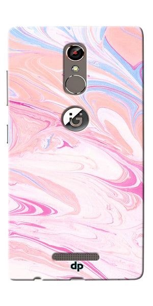 Digiprints Coloured Marble Design 3 Printed Designer Back Case Cover For Gionee S6s