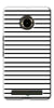 Digiprints Black Horizontal Strips Designer Printed Back Case Cover For Yu Yunique