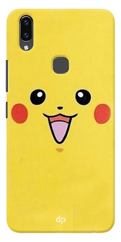 Pikachu Pokemon Back Case Cover For Vivo V9