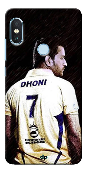 Ms Dhoni Art Printed Back Case Cover For Xiaomi Redmi Note 5 Pro