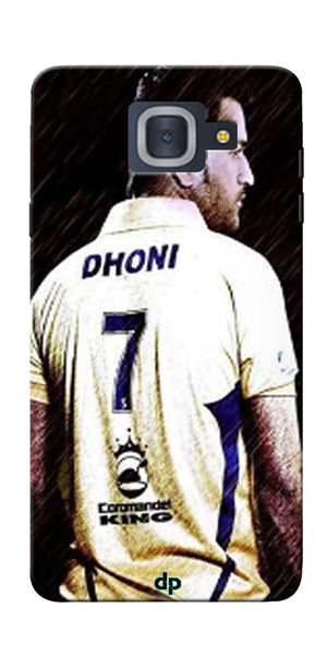 Digiprints Ms Dhoni Art Printed Back Case Cover For Samsung Galaxy J7 Max
