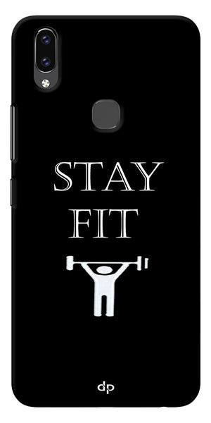 Stay Fit Designer Printed Back Case Cover For Vivo V9