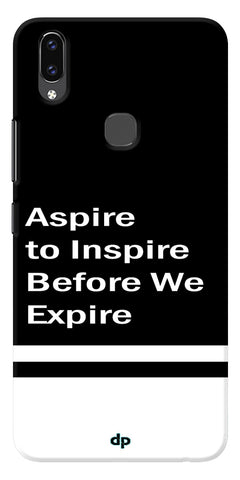 Aspire To Inspire Printed Back Case Cover For Vivo V9