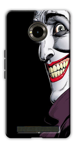 Digiprints The Joker Cartoon Printed Back Case Cover For Yu Yuphoria
