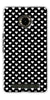 Digiprints Small Hearts On Black Design Printed Back Case Cover For Yu Yuphoria