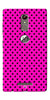 Digiprints Black Dotted Design Pink Printed Back Case Cover For Gionee S6s