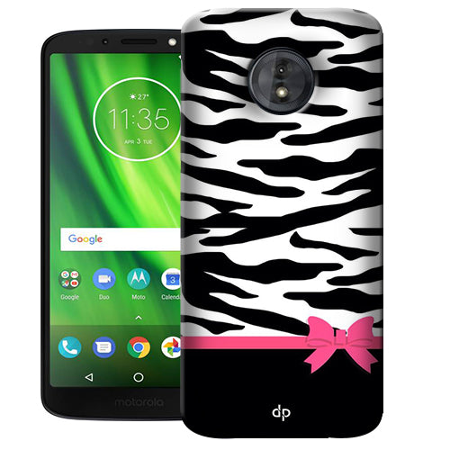 new product 331cd 25551 Digiprints Camouflage Pattern Printed Back Case Cover For Motorola Moto G6  Play