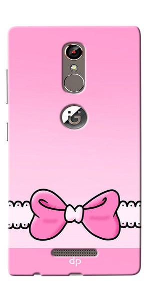 Digiprints Bing Bow Printed Back Case Cover For Gionee S6s