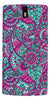 Digiprints Mandala Púrpura  Pattern Back Case Cover For OnePlus One