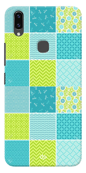 Summer Vogue Patterns Back Case Cover For Vivo V9