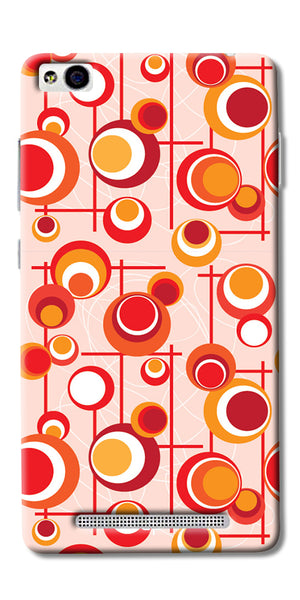 Digiprints Beautiful Geometric Patterns Back Case Cover For Xiaomi Redmi 3S