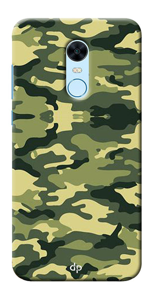 Army Pattern Back Case Cover For Xiaomi Redmi Note 5