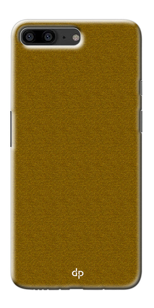 Digiprints Khaki Pattern Back Case For OnePlus 5
