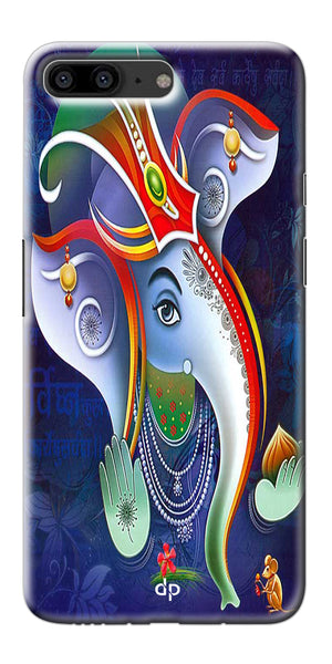 Digiprints Lord Ganesha Back Case For OnePlus 5