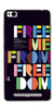Digiprints Freedom Embedded Art Back Case For Xiaomi Redmi 3S