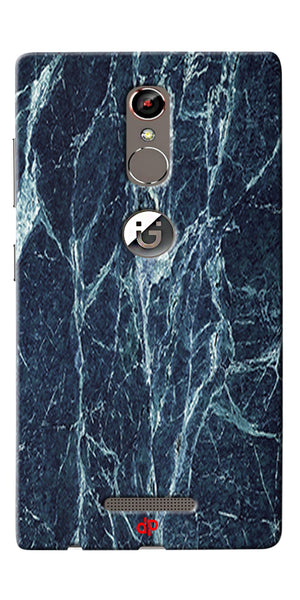 Digiprints  Marble Textured 7 Printed Case Cover For Gionee S6s