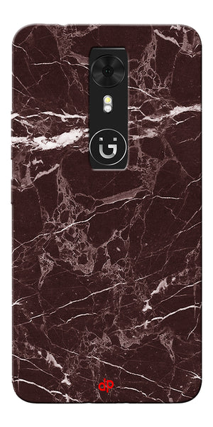Digiprints  Marble Textured 9 Printed Case Cover For Gionee A1