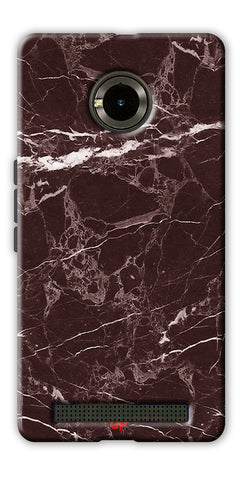 Digiprints  Marble Textured 9 Printed Case Cover For Yu Yunique
