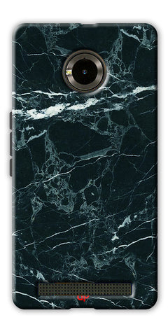 Digiprints  Marble Textured 10 Printed Case Cover For Yu Yuphoria