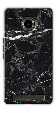 Digiprints  Marble Textured 11 Printed Case Cover For Yu Yuphoria