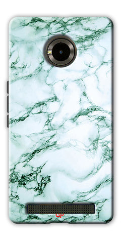 Digiprints  Marble Textured 12 Printed Case Cover For Yu Yuphoria