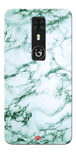 Digiprints  Marble Textured 12 Printed Case Cover For Gionee A1