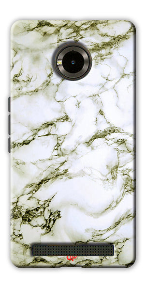 Digiprints  Marble Textured 13 Printed Case Cover For Yu Yuphoria
