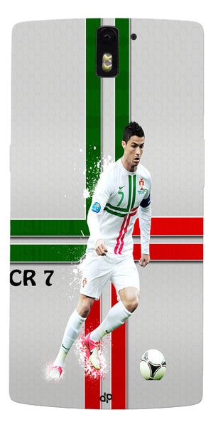 Digiprints  Cr7 Printed Back Case For OnePlus One