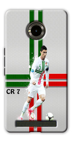 Digiprints  Cr7 Printed Back Case For Yu Yunique