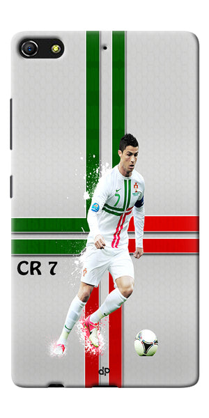 Digiprints  Cr7 Printed Back Case For Gionee Elife S7