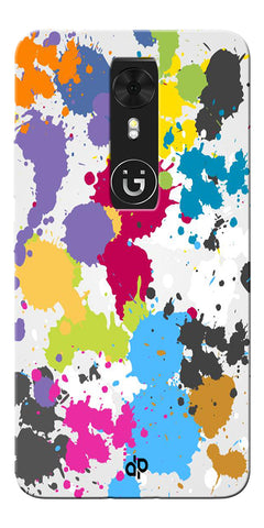 Digiprints  paint slatter Printed Designer Back Case Cover For Gionee A1