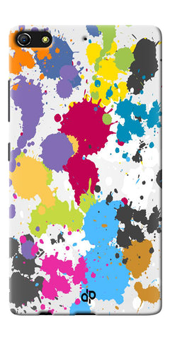 Digiprints  paint slatter Printed Designer Back Case Cover For Gionee Elife S7