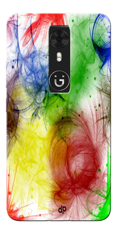 Digiprints  color art Printed Designer Back Case Cover For Gionee A1