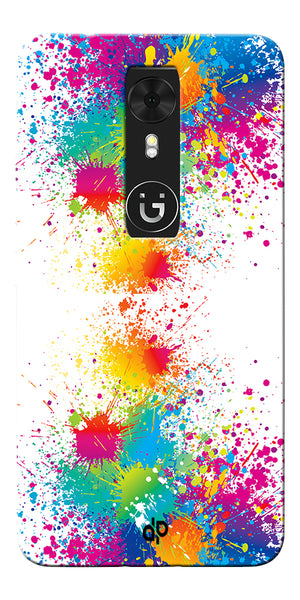 Digiprints  water color background Printed Designer Back Case Cover For Gionee A1