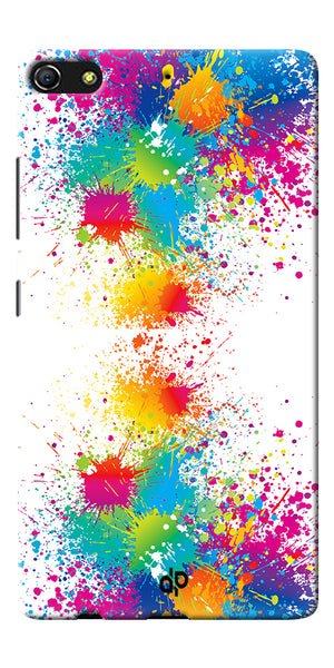 Digiprints  water color background Printed Designer Back Case Cover For Gionee Elife S7