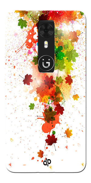 Digiprints  paint splatter Printed Designer Back Case Cover For Gionee A1