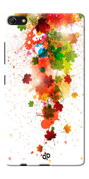 Digiprints  paint splatter Printed Designer Back Case Cover For Gionee Elife S7